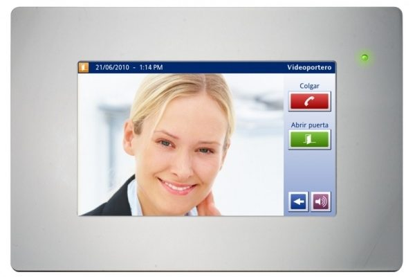 pantalla tactil videoportero servidor integrado